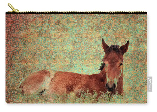 Flowery Foal Carry-all Pouch