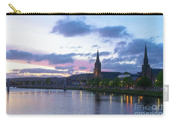 Flowing Down The River Ness Carry-all Pouch
