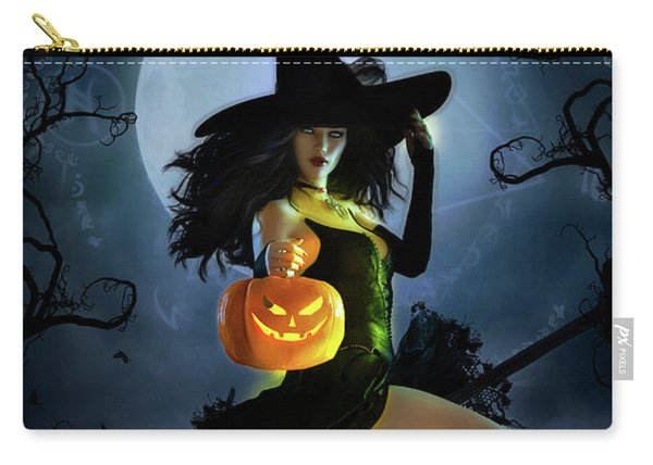 Fly By Night Halloween Carry-all Pouch
