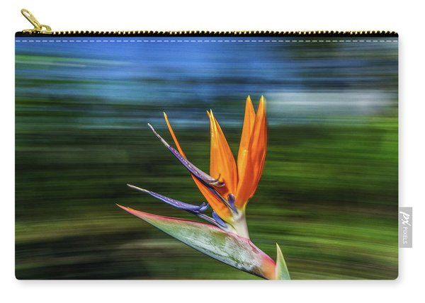 Flying Bird Of Paradise Carry-all Pouch