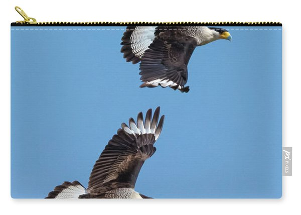 Flying Caracaras Carry-all Pouch