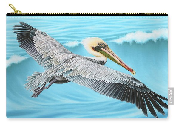 Flying Pelican Carry-all Pouch