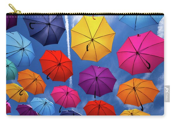 Flying Umbrellas I Carry-all Pouch