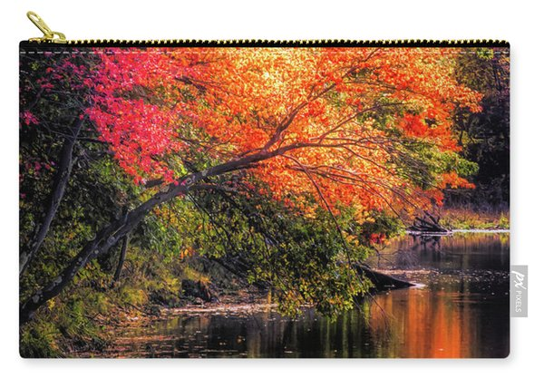 Foliage Over Forge Pond Carry-all Pouch