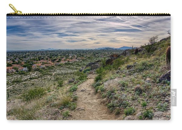 Following The Desert Path Carry-all Pouch