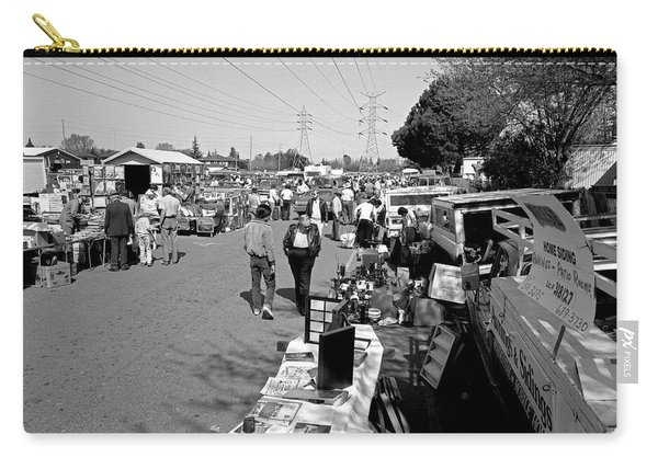 Folsom Flea Market 1985 Carry-all Pouch