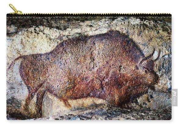 Font De Gaume Bison Carry-all Pouch