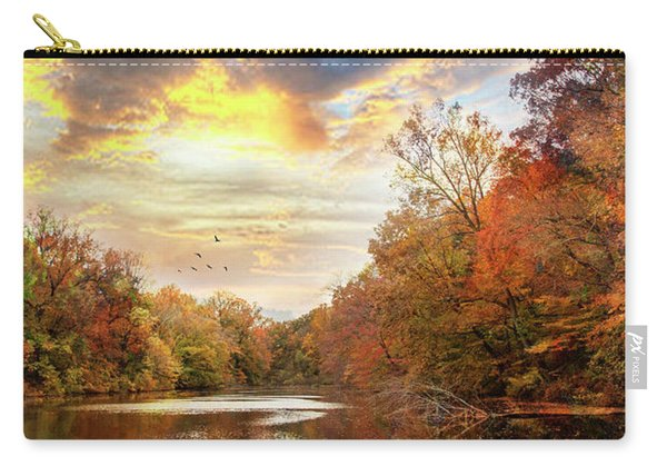 For The Love Of Autumn Carry-all Pouch