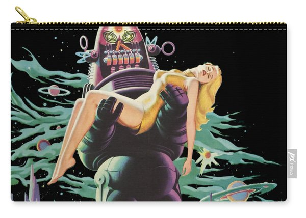 Forbidden Planet Vintage Movie Poster Carry-all Pouch