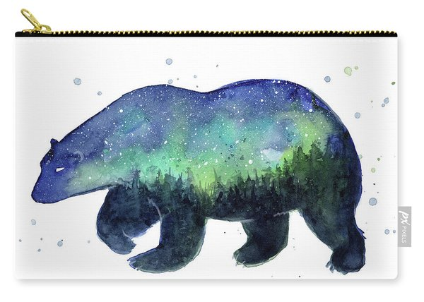 Forest Bear Galaxy Carry-all Pouch