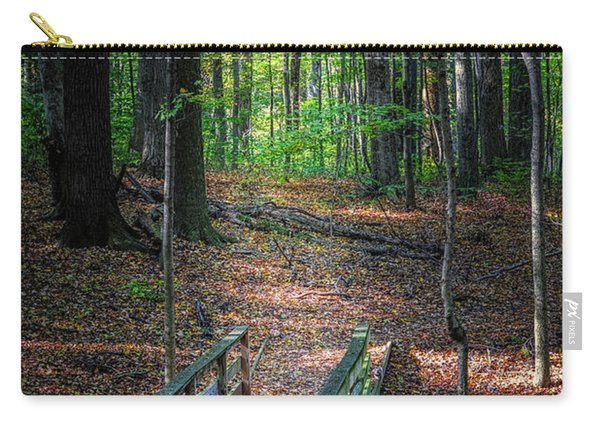 Forest Footbridge Carry-all Pouch