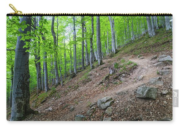 Forest On Balkan Mountain, Bulgaria Carry-all Pouch