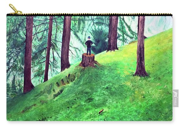 Forest Through The Trees Carry-all Pouch