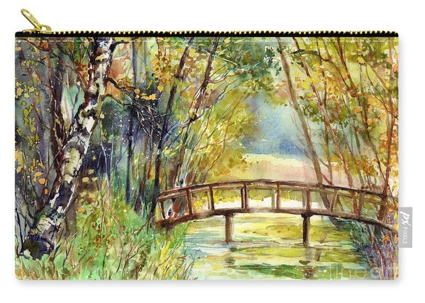 Forgotten Bridge Carry-all Pouch