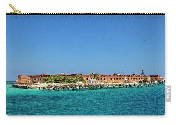 Fort Jefferson, Dry Tortugas National Park Carry-all Pouch