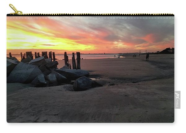 Fort Moultrie Sunset Carry-all Pouch
