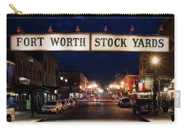 Fort Worth Stock Yards 112318 Carry-all Pouch