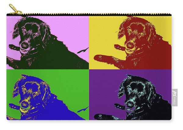 Foster Dog Pop Art Carry-all Pouch