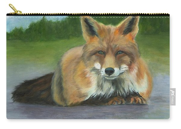 Fox At Rest Carry-all Pouch