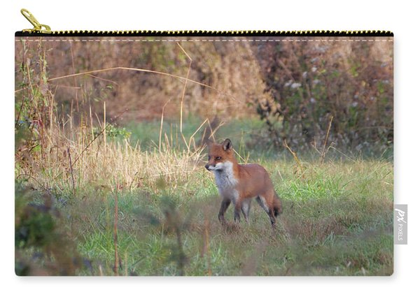 Fox In The Wild Carry-all Pouch