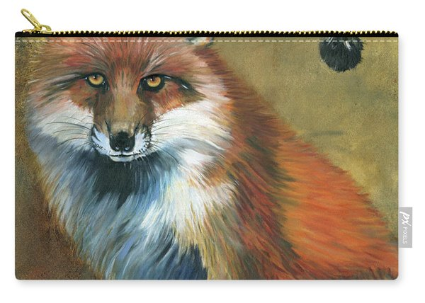 Fox Shows The Way Carry-all Pouch