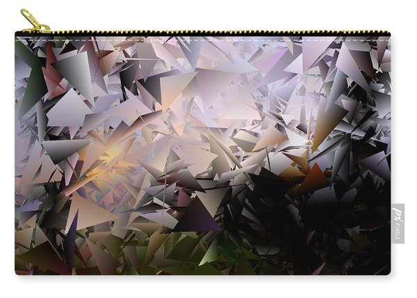 Fractured Image 1 Carry-all Pouch