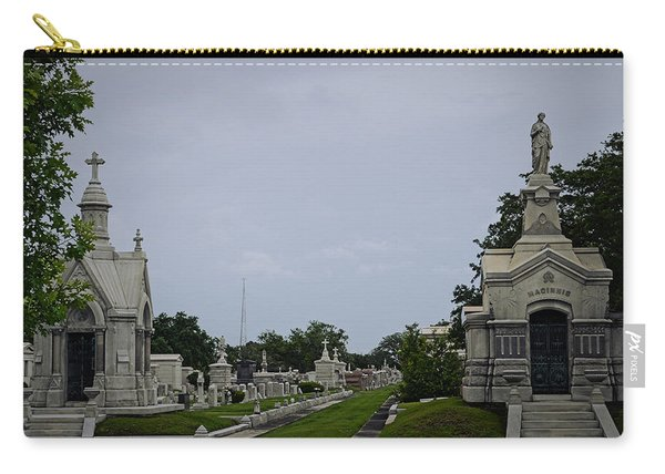 Framed In The Cemetery Carry-all Pouch