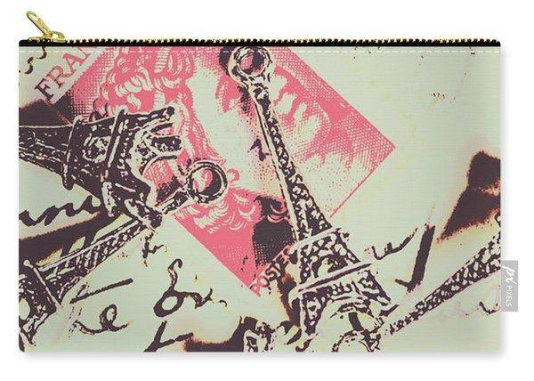 Francs Script Carry-all Pouch