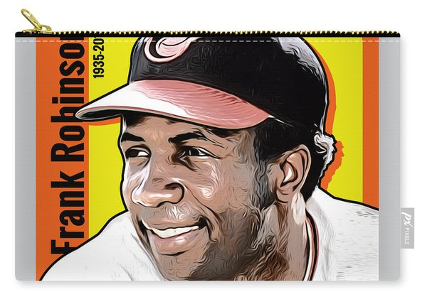 Frank Robinson Tribute Carry-all Pouch