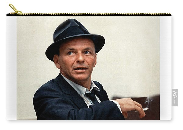 Frank Sinatra At Capitol Records, 1953 Carry-all Pouch