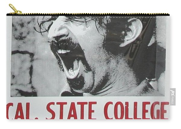 Frank Zappa Alice Cooper 1972 Poster Carry-all Pouch