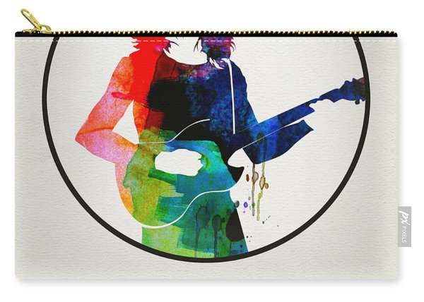 Frank Zappa Watercolor Carry-all Pouch