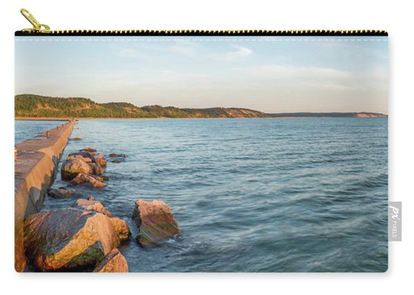 Frankfort Shoreline Panorama Carry-all Pouch