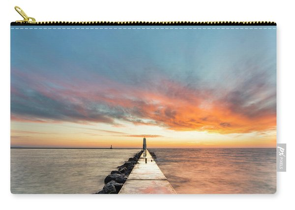 Frankfort Sunset 1x1 Carry-all Pouch