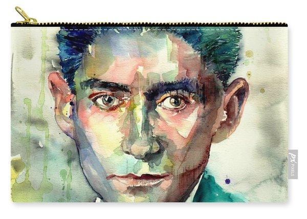 Franz Kafka Portrait Carry-all Pouch