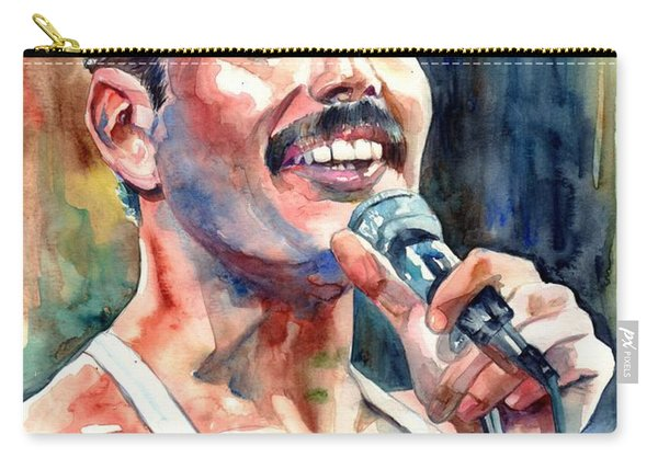 Freddie Mercury Live Aid Carry-all Pouch