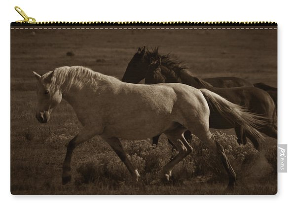 Carry-all Pouch featuring the photograph Freedom II by Catherine Sobredo