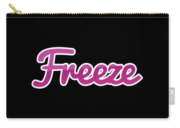 Freeze #freeze Carry-all Pouch