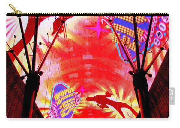 Fremont Street Experience 12 Carry-all Pouch
