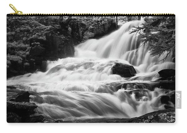 French Alps Stream Carry-all Pouch