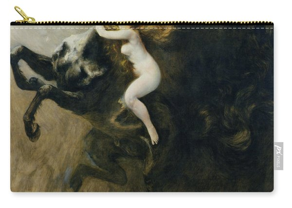 Frenzy Of Elations Or Frenzy Of Dreams, 1894 Carry-all Pouch