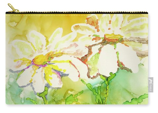Fresh As Daisies Carry-all Pouch
