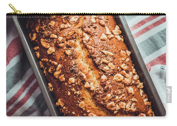 Freshly Baked Banana Bread Carry-all Pouch