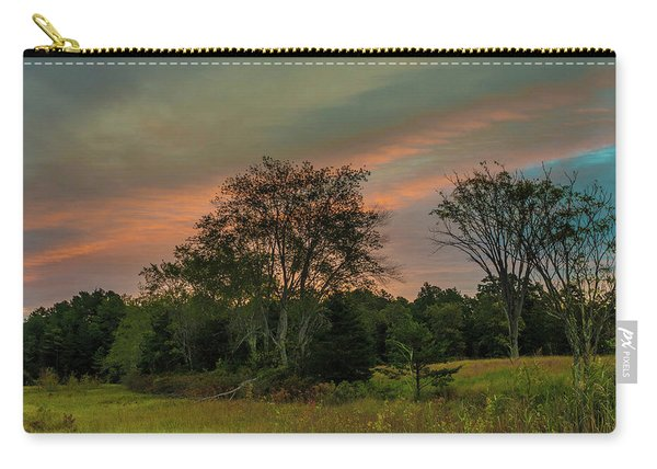 Pine Lands In Friendship Sunrise Carry-all Pouch