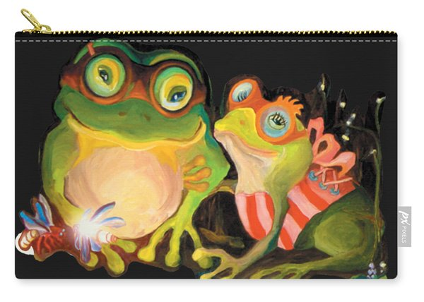 Frogs Overlay  Carry-all Pouch