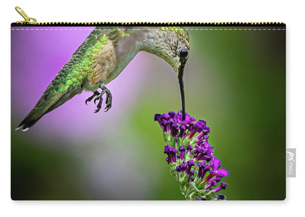 Carry-all Pouch featuring the photograph From The Top by Allin Sorenson