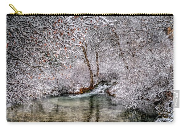 Frosty Pond Carry-all Pouch