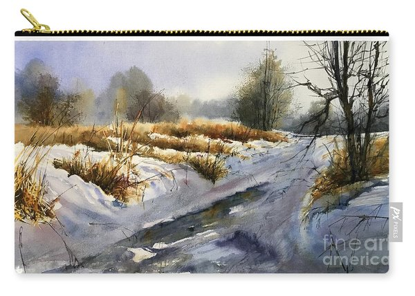 Frozen Brook Carry-all Pouch