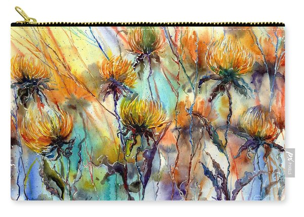 Frozen Chrysanthemums Carry-all Pouch