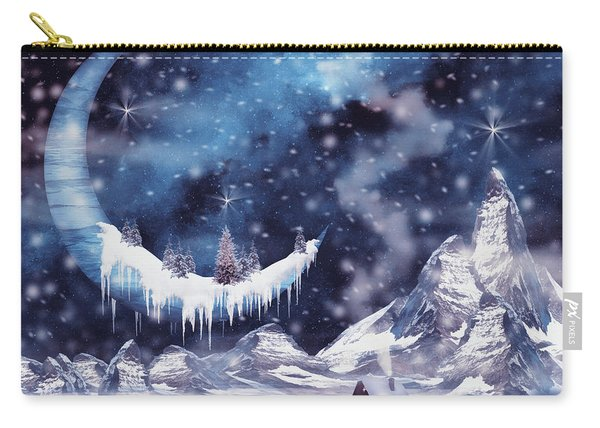 Frozen Moon Carry-all Pouch